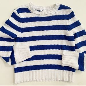 English Factory Striped Knit Sweater (S)